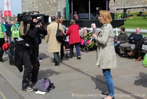 Dutch media broadcast, The Queen's 90th Birthday, Windsor