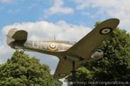 Hawker Hurricane, Memorial to Sir Sydney Camm, (1893-1966) Windsor