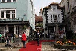 Media, Market Cross House, The Queen's 90th Birthday, Windsor