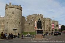 Queen Victoria Statue, Windsor Castle, The Queen's 90th Birthday, Windsor