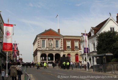 The Guildhall, The Queen's 90th Birthday, Windsor