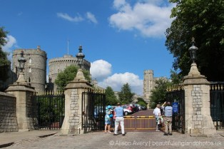 Visitors' entrance, Windsor Castle, Windsor