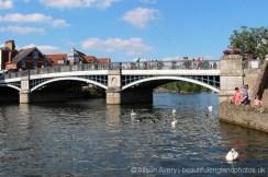Windsor Town Bridge, River Thames, Windsor