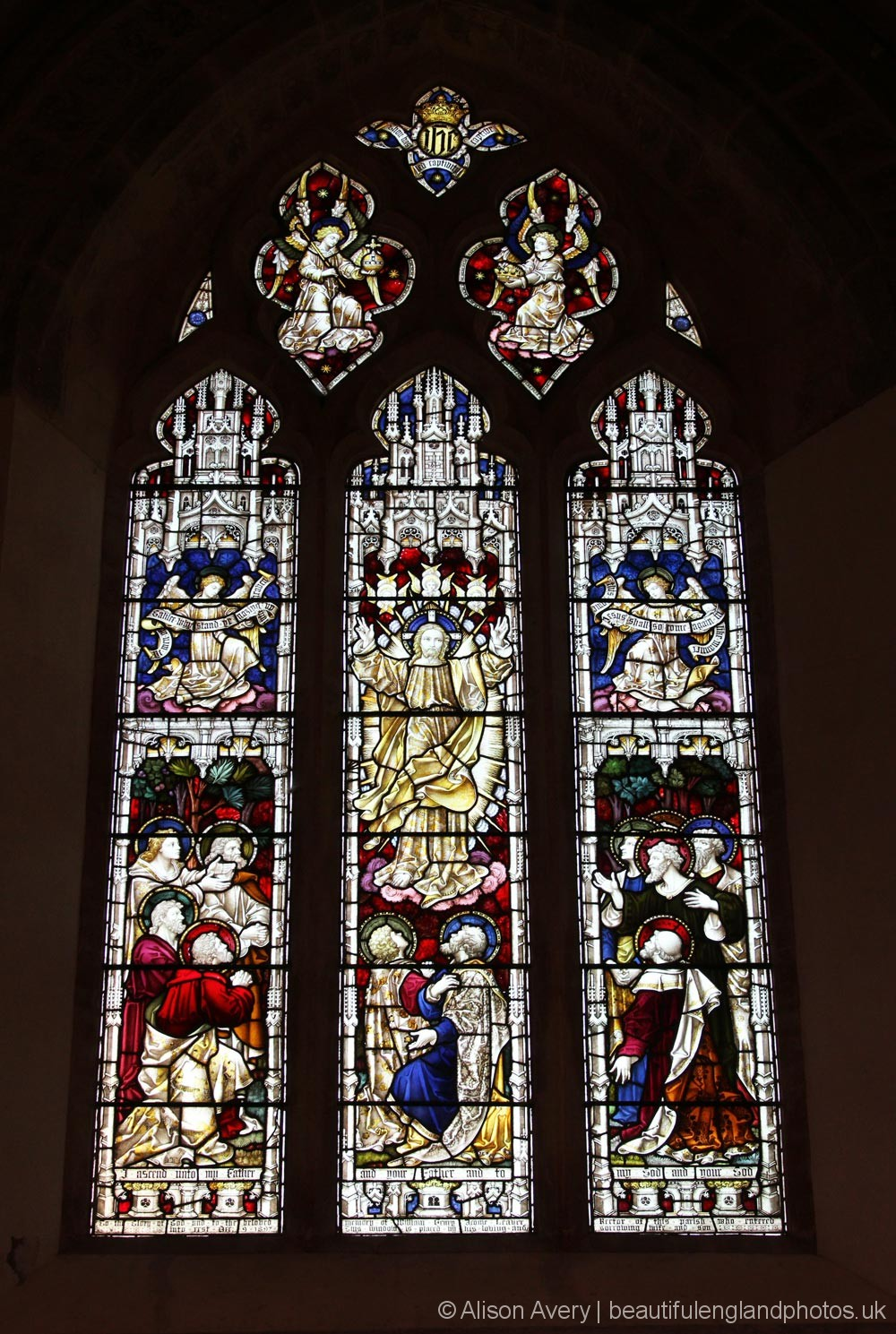 East Window, St. James' Church, Cooling