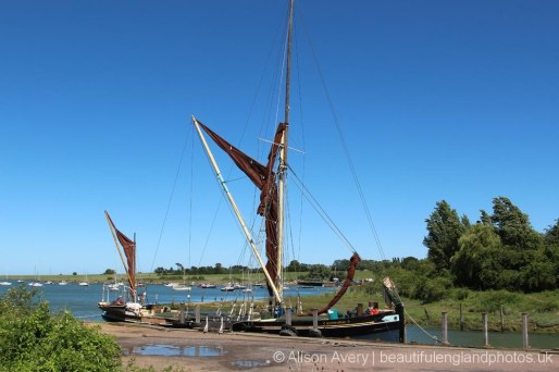 Edith May Thames Barge, Lower Halstow
