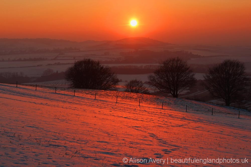 Sunset, Dunstable Downs