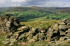 Edale and The High Peak, from The Great Ridge, Peak District