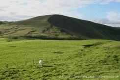 Mam Tor, from Winnats Head Farm, Castleton, High Peak