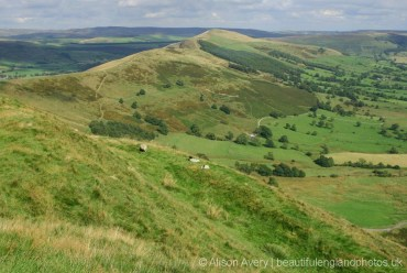 The Great Ridge from Mam Tor, Peak District