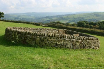 Riley graves, plague victims, Riley's Field, Eyam