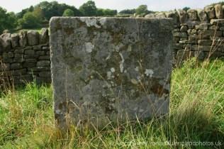 Grave of Elizabeth Hancocke, plague victim, Bur Aug 3rd 1666, Riley Graves, Eyam