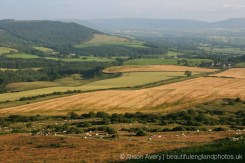 North York Moors, from Roseberry Topping
