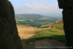 North York Moors, from summit, Roseberry Topping