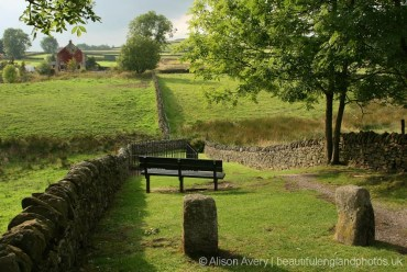 Path to Mompesson's Well, Eyam