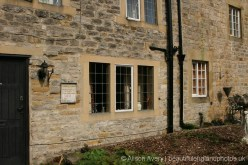 Plague Cottages, where Peter Hawksworth died, Eyam