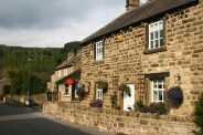Post Office and cottage, Eyam