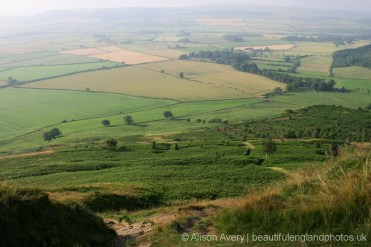 View from Roseberry Topping, North York Moors