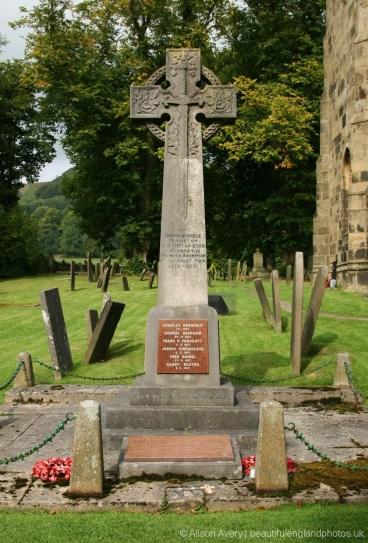 War Memorial, St. Lawrence's Churchyard, Eyam