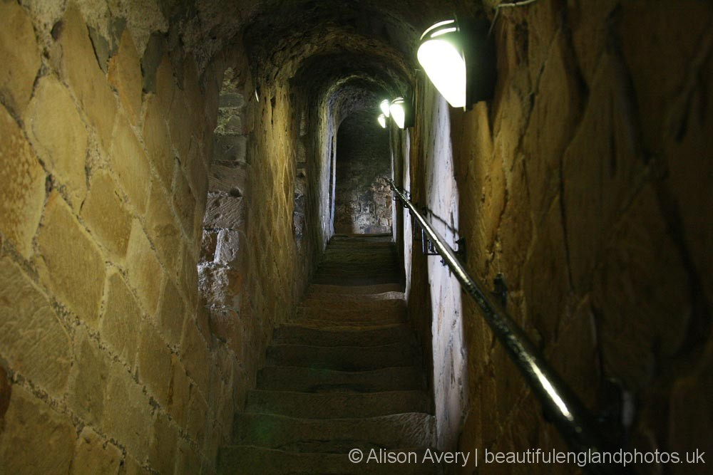 Inside the Great Tower, Richmond Castle, Richmond