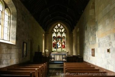 Nave, St Mary's Church, Rievaulx