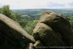 Nidderdale, from Cannon Rocks, Brimham Rocks