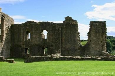 South wall, Richmond Castle, Richmond