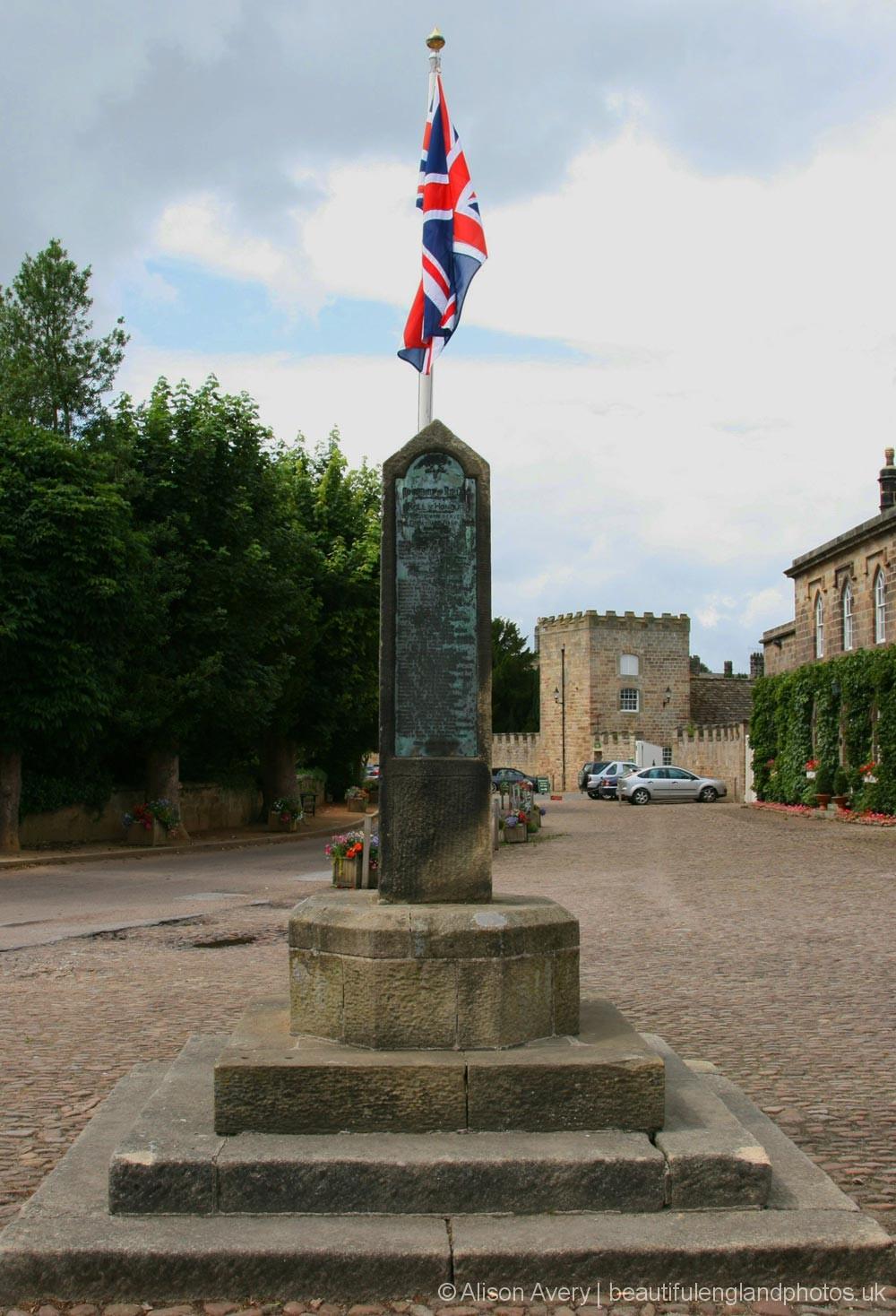 War Memorial, Market Place, Ripley
