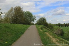 Disused Didcot, Newbury and Southampton Railway Line, between East Hagbourne and West Hagbourne