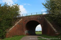 Footpath under the Hagbourne Embankment, between East Hagbourne and West Hagbourne