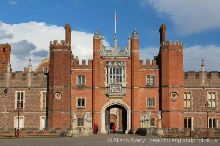 The Great Gatehouse, West Front, Hampton Court Palace
