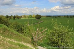 View from the Hagbourne Embankment, between East Hagbourne and West Hagbourne