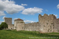 Keep, Landgate and D-shaped Roman Towers, Portchester Castle, Portchester