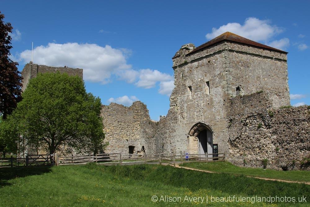 Landgate, Portchester Castle, Portchester