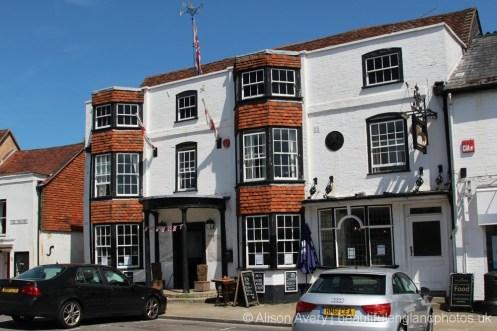 The Bugle Hotel, The Square, Titchfield