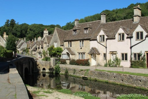 Bybrook River and Weavers' Cottages, Castle Combe