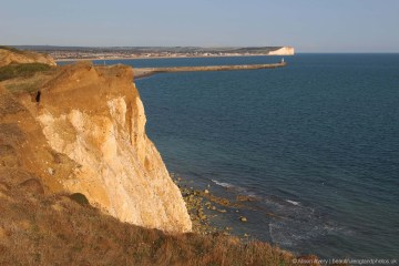 Seaford Bay, from Seahaven Coastal Trail, between Newhaven and Peacehaven
