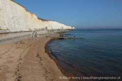 Beach and Undercliff Walk, from Brighton Marina, Brighton