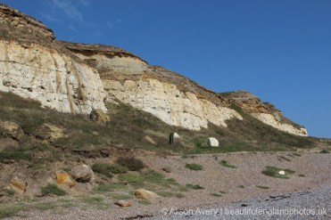 Castle Hill, from West Beach, Newhaven