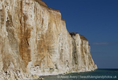 Chene Gap, Friars' Bay, from Eastern end of Undercliff Walk, Peacehaven