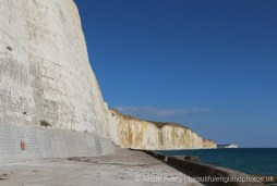 Eastern end of Undercliff Walk, Peacehaven