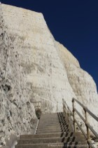 Friars' Bay Cliff Steps to Cliff Avenue, from Undercliff Walk, Peacehaven