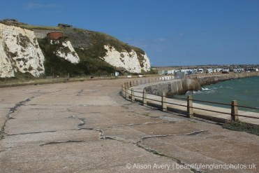 Promenade, below Newhaven Fort, Castle Hill, Newhaven