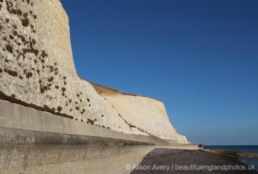 Sea wall, Bastion Steps, Peacehaven