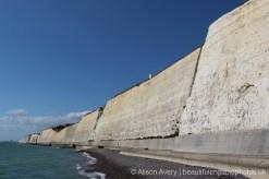 Sea wall, Peacehaven