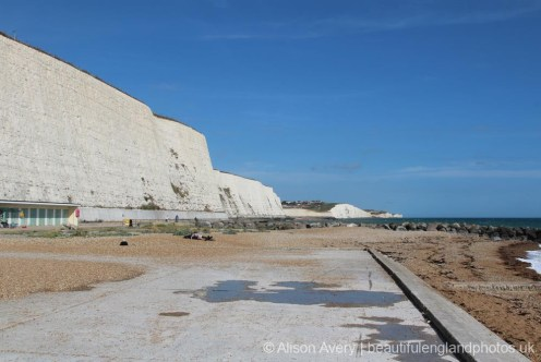 Site of old swimming pool, Undercliff Walk, Rottingdean