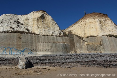 Steps from beach, Telscombe Cliffs