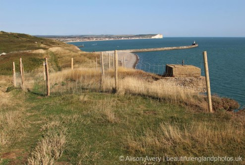World War II coastal defences, Seahaven Coastal Trail, near Newhaven