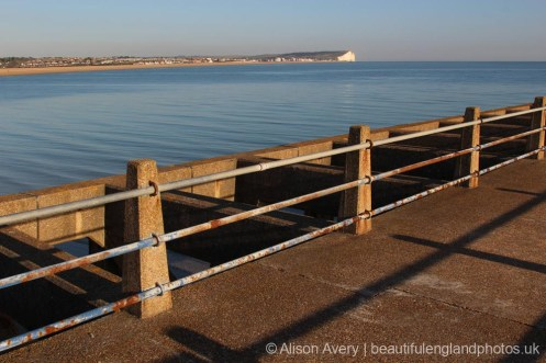 Seaford Bay, from East Pier, Newhaven