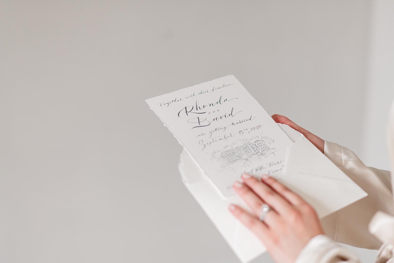 invitations calligraphy