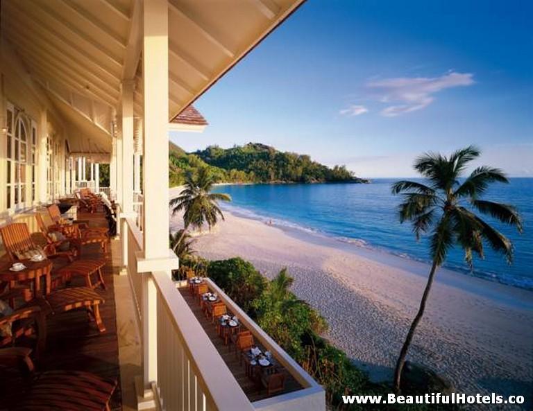 Beautiful Hotels Banyan Tree Seychelles Mahe Seychelles
